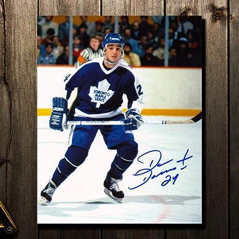 reputable site 52452 e7fcb Dan Daoust Toronto Maple Leafs Autographed 8x10 at Amazon's ...
