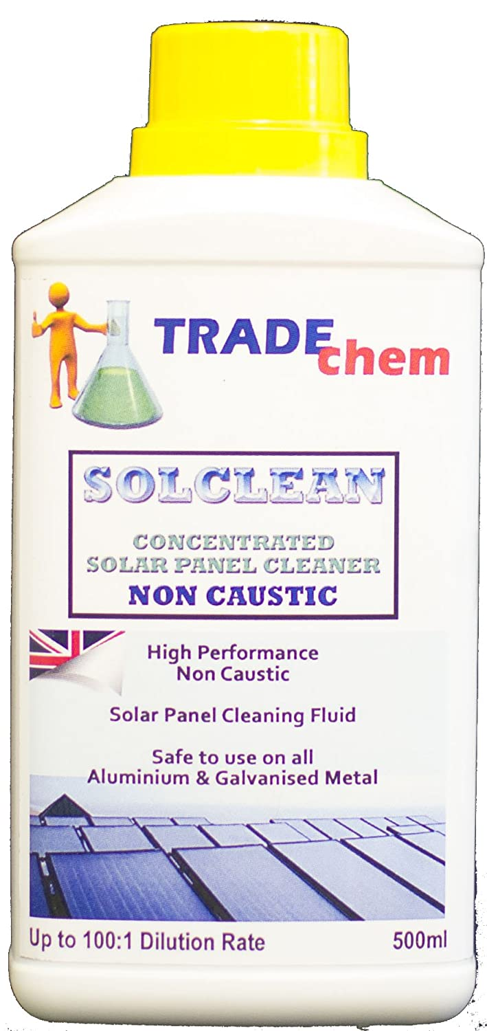 SOLCLEAN CONCENTRATED SOLAR PANEL CLEANER (5L) Trade Chemicals