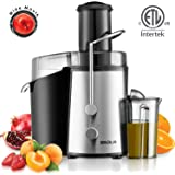 Baulia JM804 Powerful Juice Extractor Juicer Machine, 450W, Black