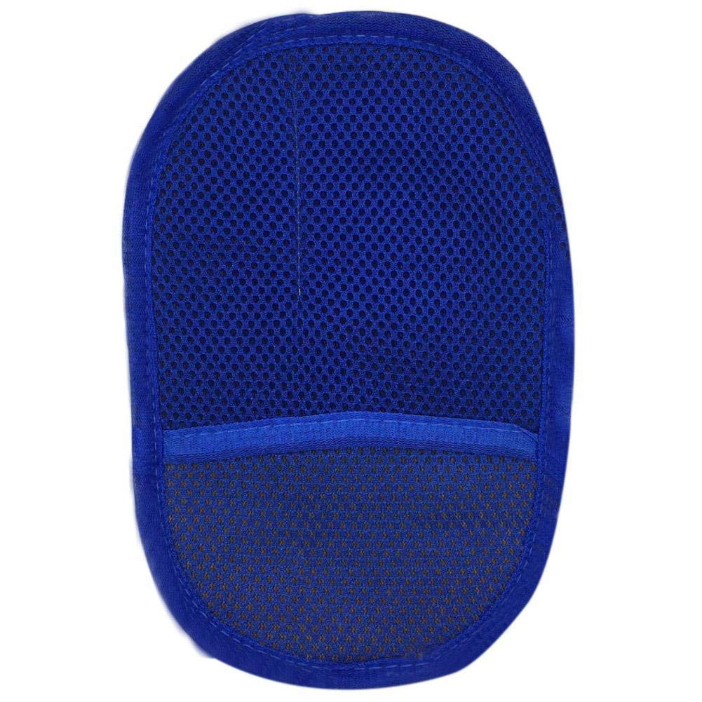 Useful Car Auto Cleaning Glove Towels Car Motorcycle Artificial Wool Soft Washer Brush Car Care Wash Cleaning Tool Best Gift (Blue)