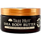 Tree Hut 24 Hour Intense Hydrating Shea Body Butter, Marula & Jasmine, 7 Ounce