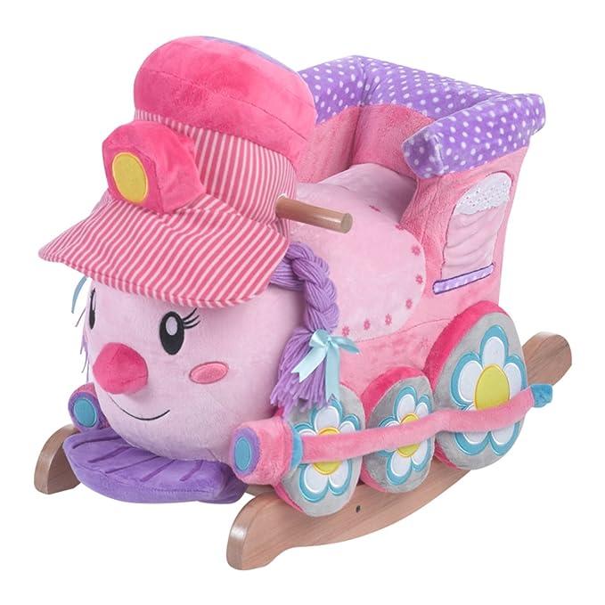 Amazon.com: Rockabye Jane el Tren Play & Rock Ride On: Toys ...