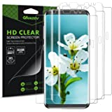 Galaxy S8 Screen Protector [3-Pack Case Friendly], VANZEV FullEdge Ultra Clear HD Flexible Protective Film Screen Protection for Samsung S8 [Not Tempered Glass]