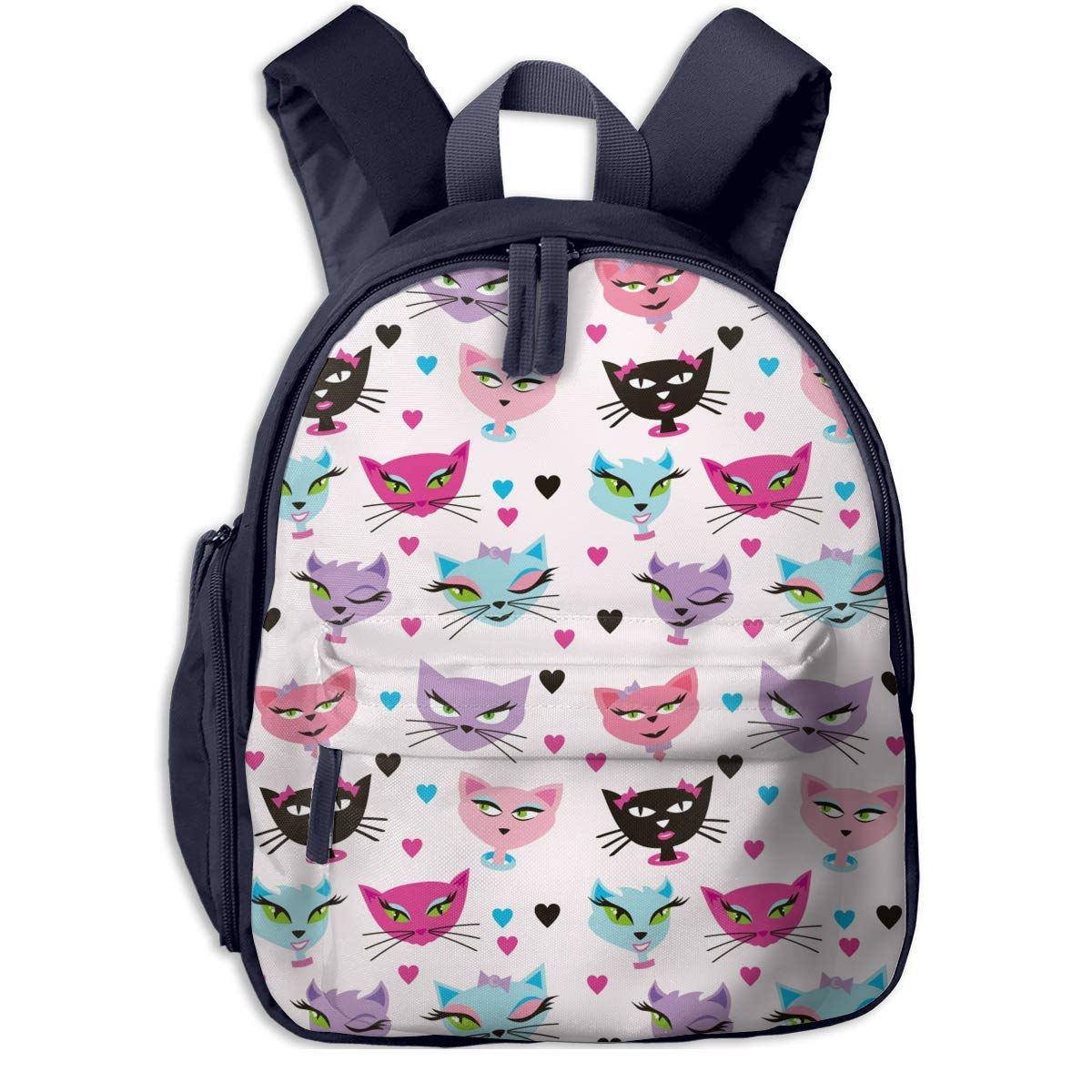Sd4r5y3hg School Backpack for Girls Boys, Kids Cute Cute Cute Carttoon Cat Cartoon Backpacks Book Bag B07M9M65GS Daypacks Klassischer Stil 1f9518