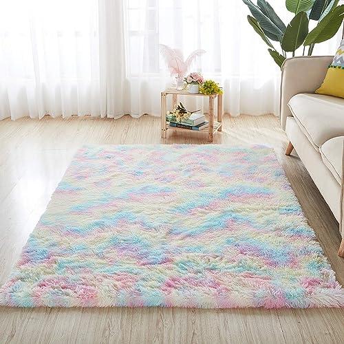 5X8 Rainbow Carpet