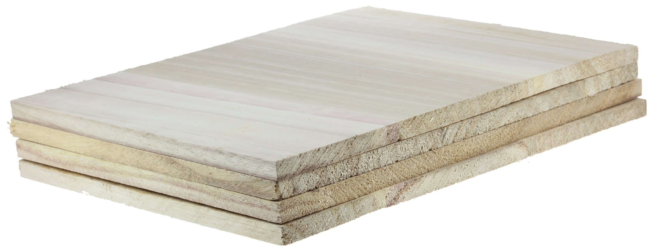 Tiger Claw Wood Breaking Board - Breakable Board in 12 mm Thickness (4 Board Pack)