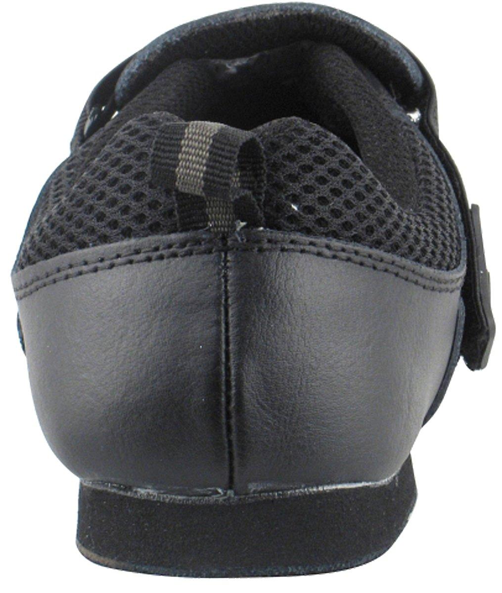 Very Fine Men's Women's Salsa Ballroom Latin Zumba Hip Hop Dance Sneakers Style VFSN009 Bundle with Dance Shoe Wire Brush, Black 12 M US (US Women 12/ US Men 10.5) by Very Fine Dance Shoes (Image #4)