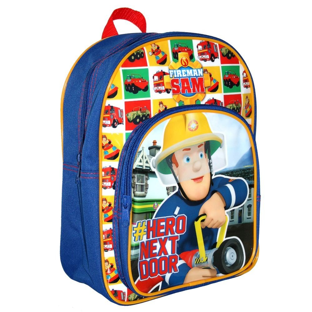 Fireman Sam - Kids Backpack - Hero 24 x 31 x 11 cm Trade Mark