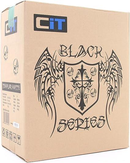 CiT Templar - Caja de Ordenador de sobremesa (Micro ATX, USB 2.0, 500W), Color Negro: Amazon.es: Informática