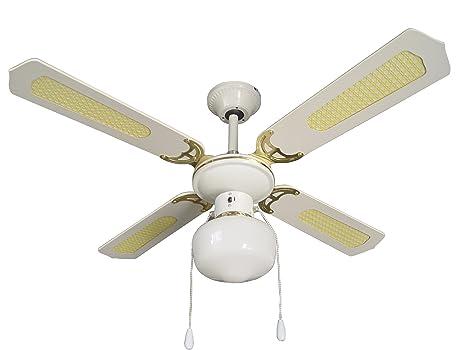 Armour danforth tmx ventilatore da soffitto con pale luce