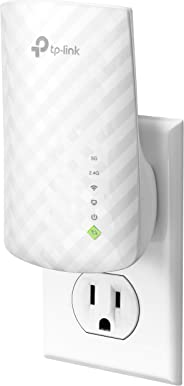 TP-Link AC750 Dual Band WiFi Range Extender, Repeater, Access Point w/Mini Housing Design, Extends WiFi to Smart Home & Alexa