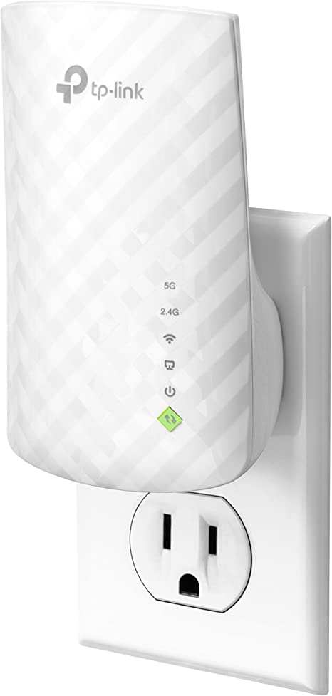 TP-Link | AC750 Wifi Range Extender | Up to 750Mbps | Dual Band WiFi Extender, Repeater, Wifi Signal Booster, Access Point| Easy Set-Up | Extends Wifi ...