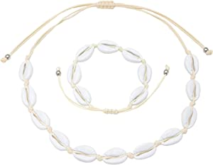 Free Heart Made of Gold Shell Necklace