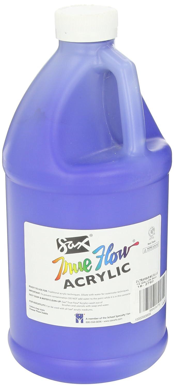 Sax True Flow Heavy Bodied Acrylic Paint - 1/2 Gallon - Ultramarine Blue