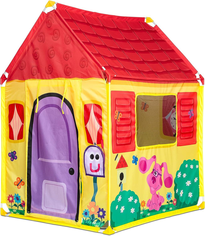 Melissa & Doug Blue's Clues & You! Blue's House Play Tent