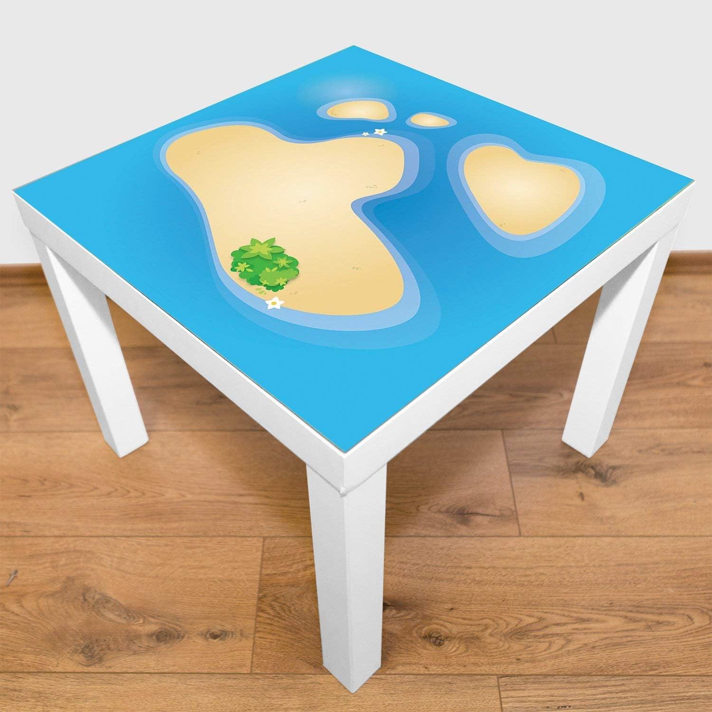 playmatt Spielmatte 100/% schadstofffrei rutschfest waschbar kleines Atoll
