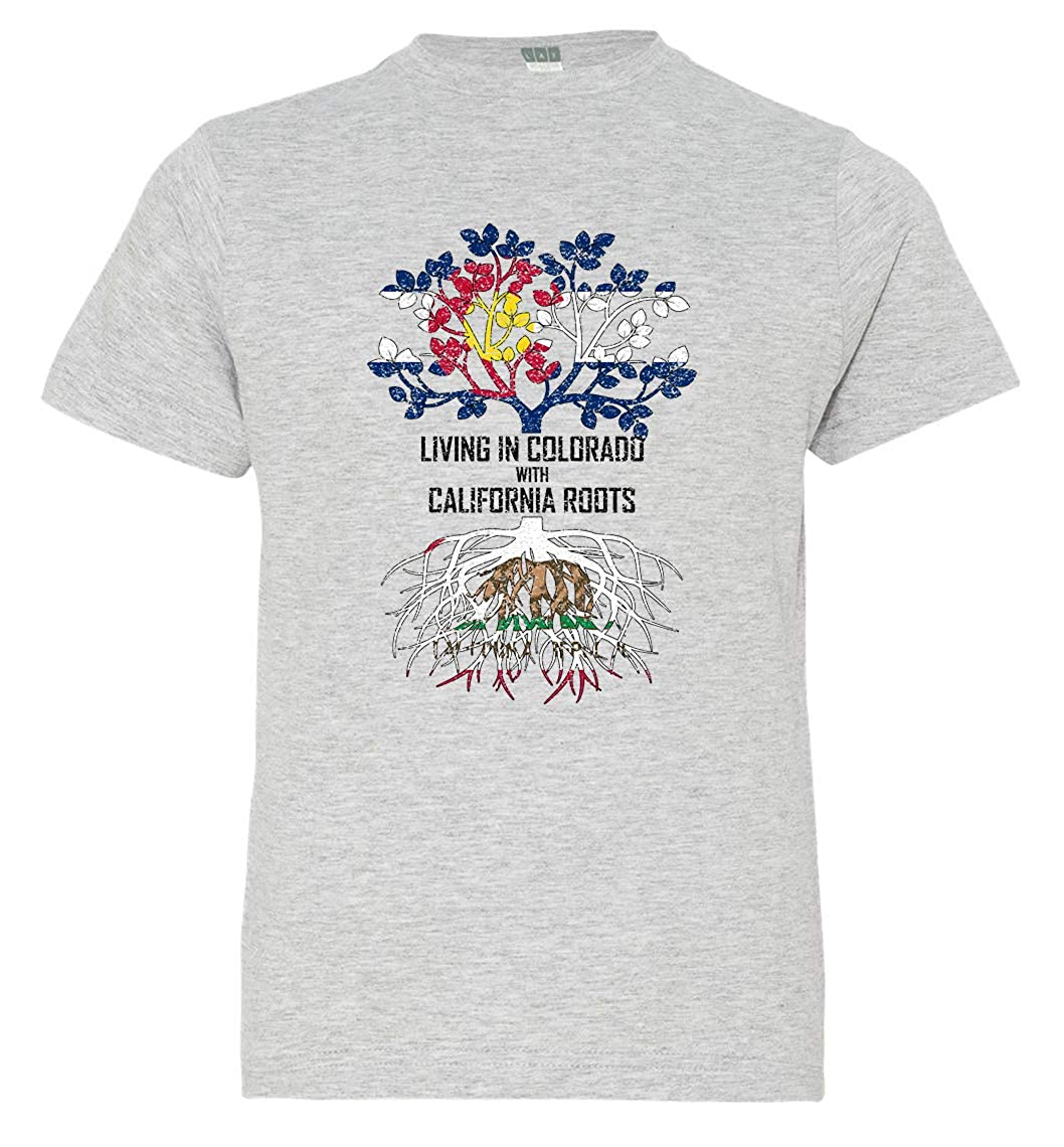 Tenacitee Babys Living in California Colorado Roots Shirt