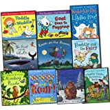 Julia Donaldson Collection 10 Books Pack Set (The Snail and the Whale, Room o...