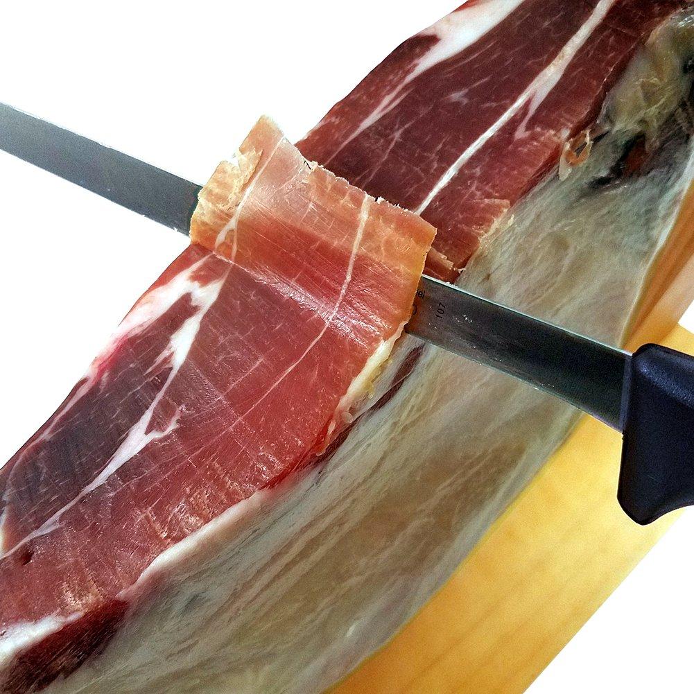 Serrano Ham Leg by Fermin, 12-13 lb, 20-25 Servings + Ham Holder, Carving Knife + Guide by Fermin (Image #6)