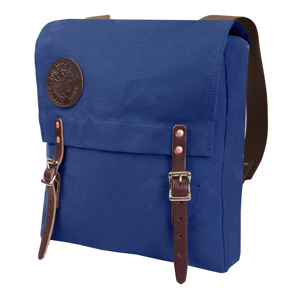 Duluth Pack Kids Box Style Backpack, Royal Blue, 13 x 13 x 3-Inch