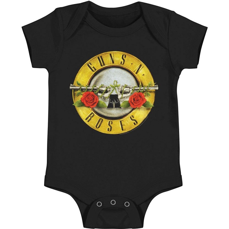 FEA Guns N Roses Bullet Babygrow (0-6 Months)