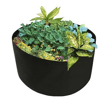 Xnferty 150 Gallons Extra Large Round Raised Garden Bed, Deep Soil Diameter  46u0026quot;/