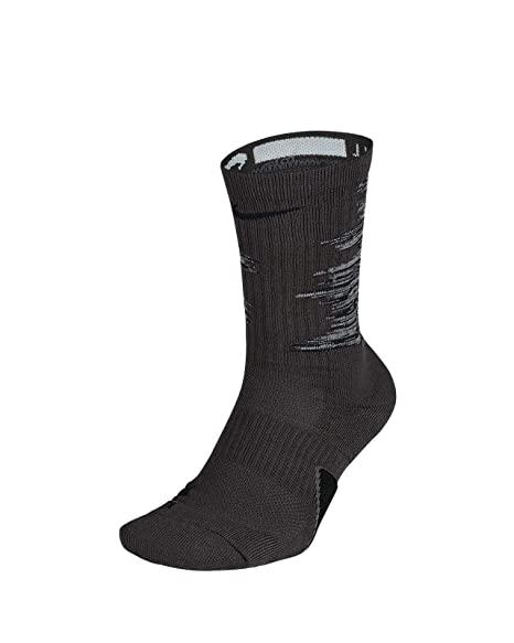 Amazon.com: Nike Elite Graphic Basketball Crew - Calcetines ...