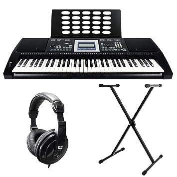 Axus Digital AXP25PK - Paquete de teclado portátil digital: Amazon.es: Instrumentos musicales