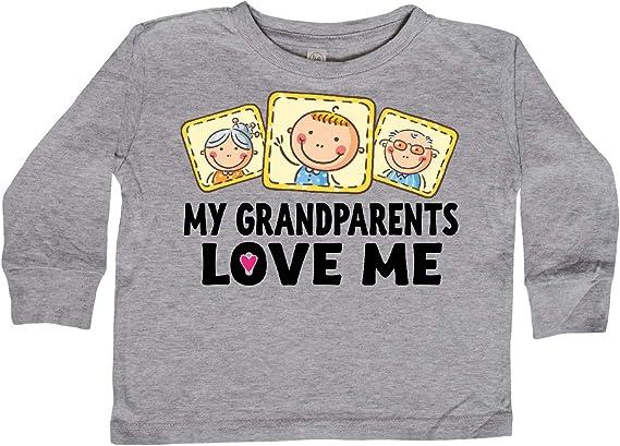 inktastic Iowa Grandma Grandpa Loves Me Long Sleeve Creeper