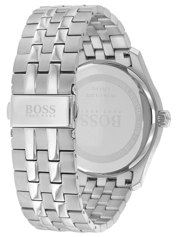 937d0ed02973 Hugo BOSS Unisex-Adult Watch 1513588  Amazon.co.uk  Watches