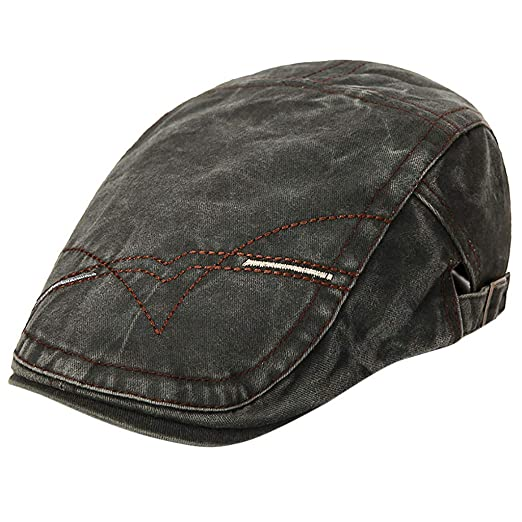 ed568374aae50 Outsta Hat Cap Fashion Men and Women Old Retro Old Washed Beret Hat Painter  Newspaperboy Hat at Amazon Women s Clothing store
