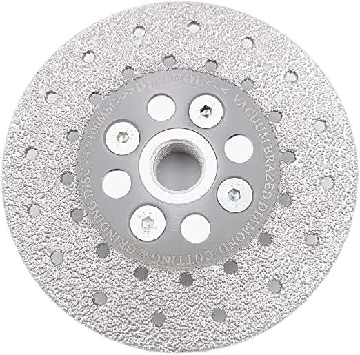 "4/"" 100mm Vacuum Brazed Diamond Disc Grinding Wheel High Quality Grinding Tool"