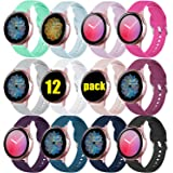 DGege Bands Compatible with Samsung Watch/Samsung Galaxy Watch Active/Active2 40mm/44mm, Replacement Strap Compatible…