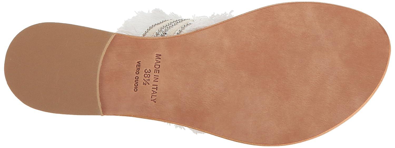 Joie Women's Nairi Flat Sandal B01N9Y2AAJ 36.5 M EU (6.5 US)|Denim Fringe-navy