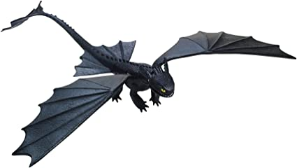 Amazon Com Dreamworks Dragons Defenders Of Berk Action Dragon Figure Missile Shooting Toothless Night Fury Toys Games