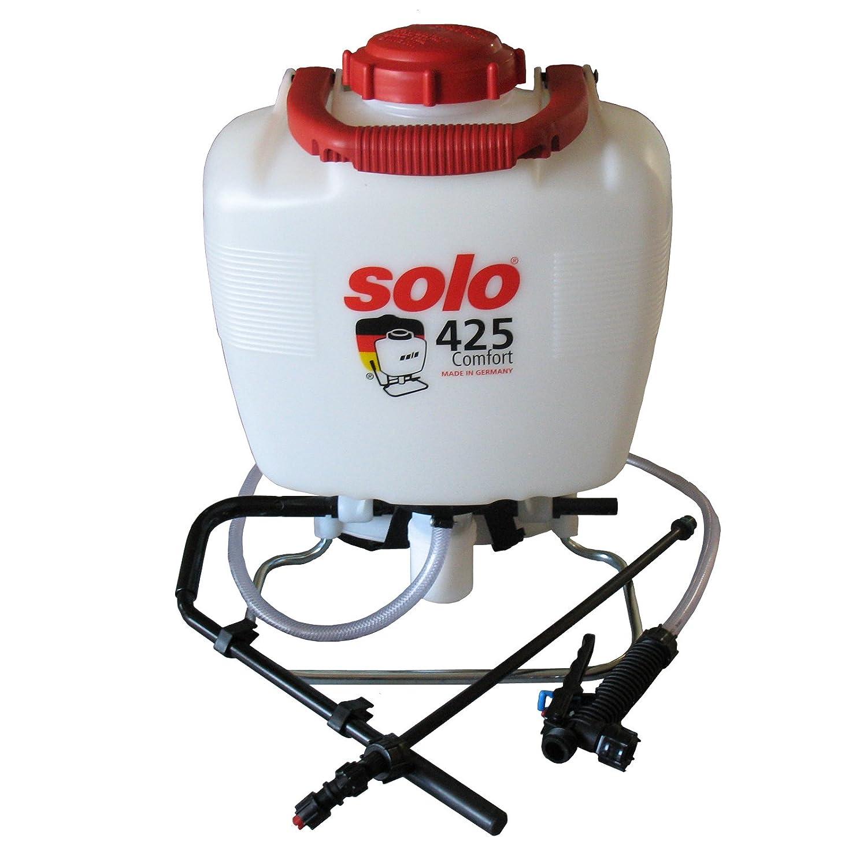 Solo 425P Komfort Rucksack Drucksprüher für Chemikalien & Wasser 15L mit 500mm Spray Lance & Viton Dichtungen