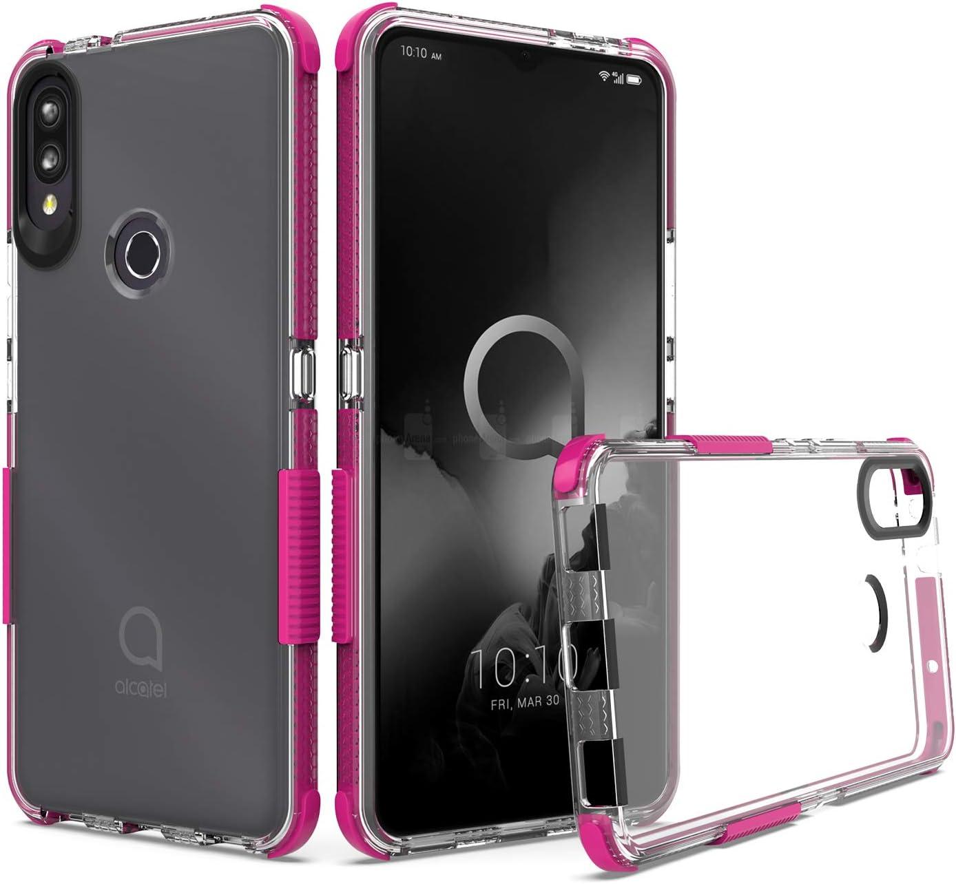 Funda para teléfono celular UNC Pro para Alcatel 3V 2019,