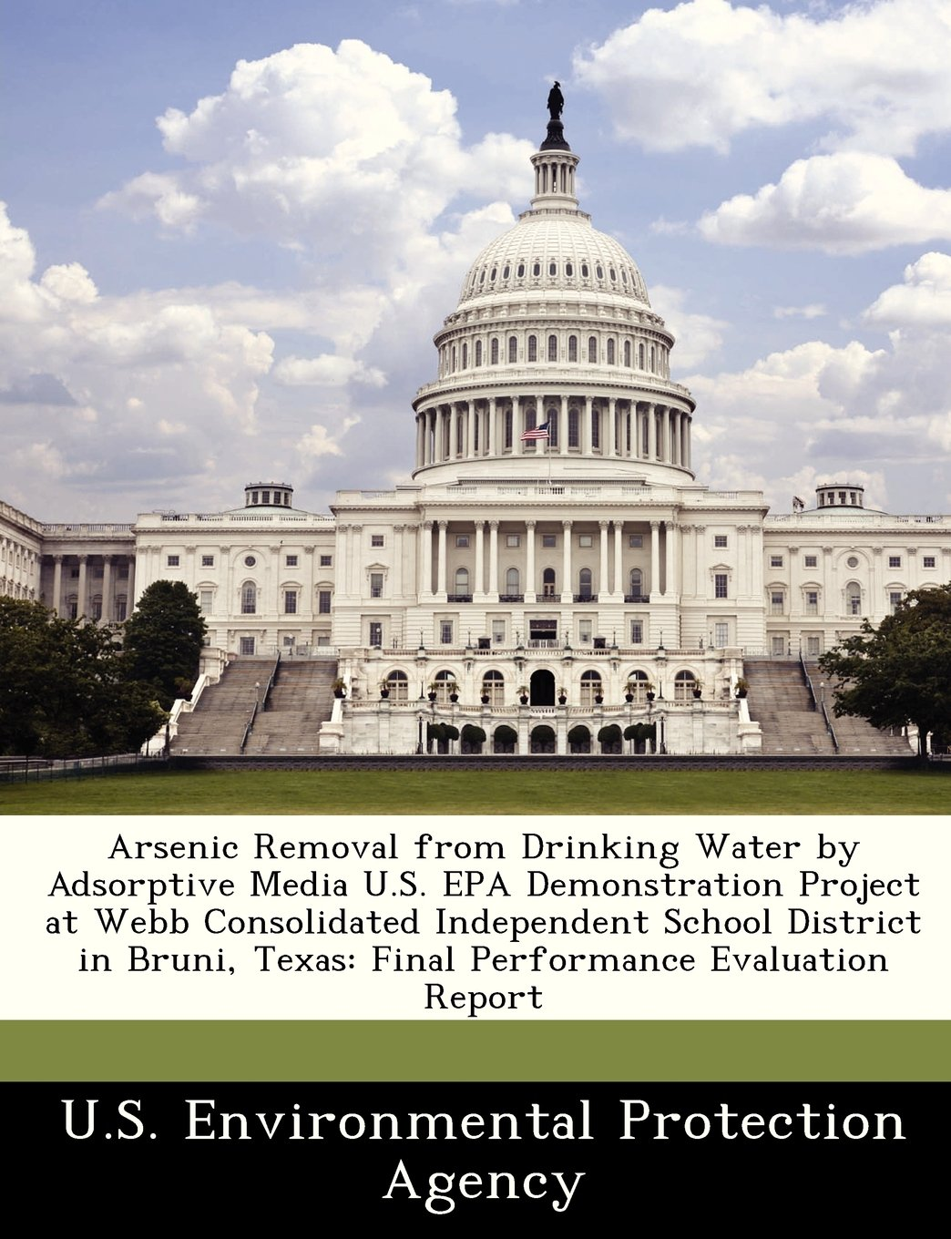 Download Arsenic Removal from Drinking Water by Adsorptive Media U.S. EPA Demonstration Project at Webb Consolidated Independent School District in Bruni, Texas: Final Performance Evaluation Report pdf