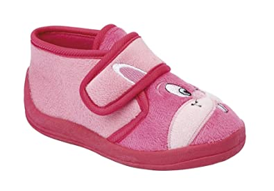 39315f693 Sleepers Infant Baby Girls Touch Fastening Rabbit Bootee Ankle Slippers  Shoes Size 4-10 -