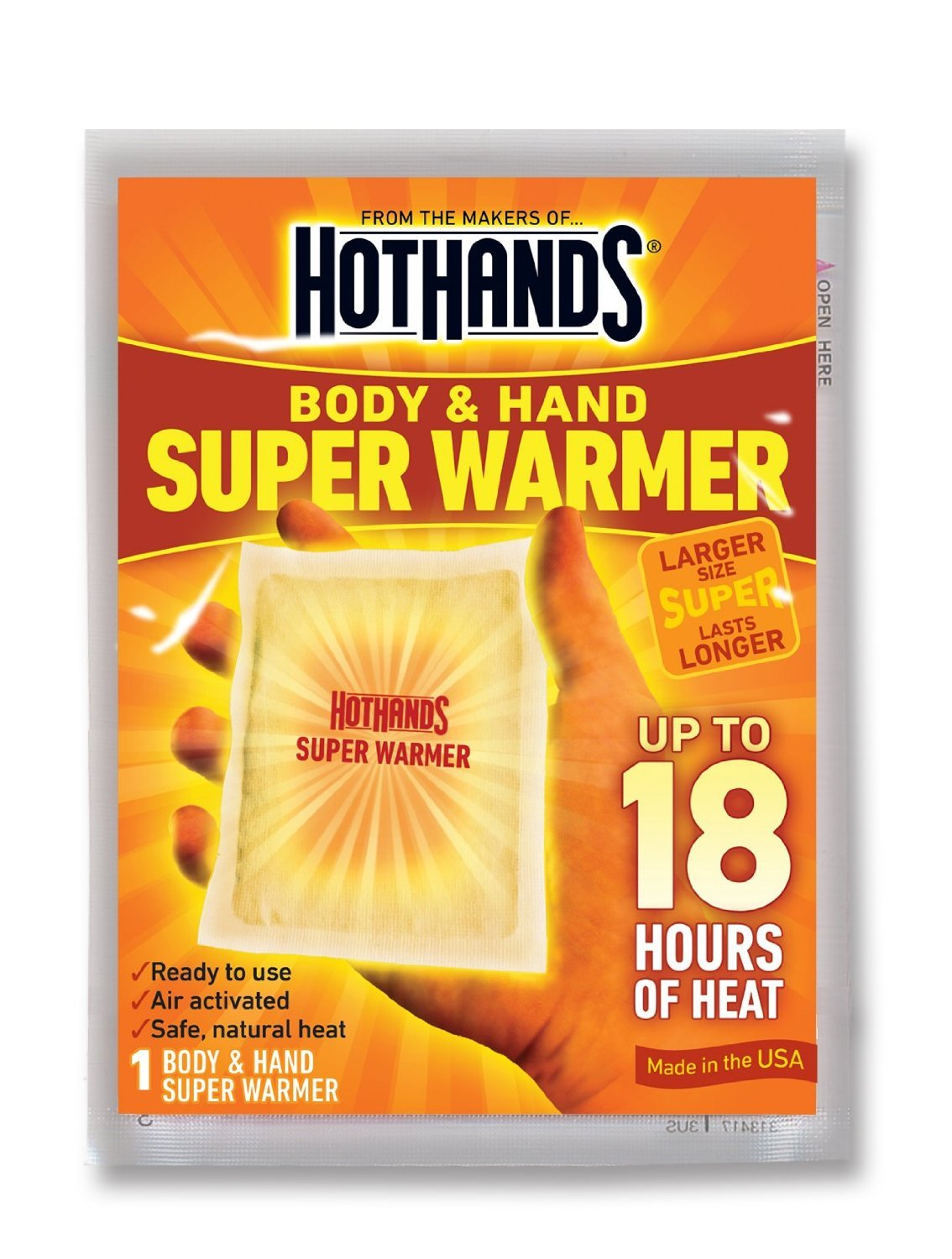 HotHands Body & Hand Super Warmer (100 count) by HotHands (Image #1)