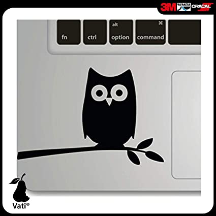 Vati Hojas Extraíble Humor Hecho a Mano Art Parcial Piel Cool Diseño Vinilo Trackpad Adhesivo para
