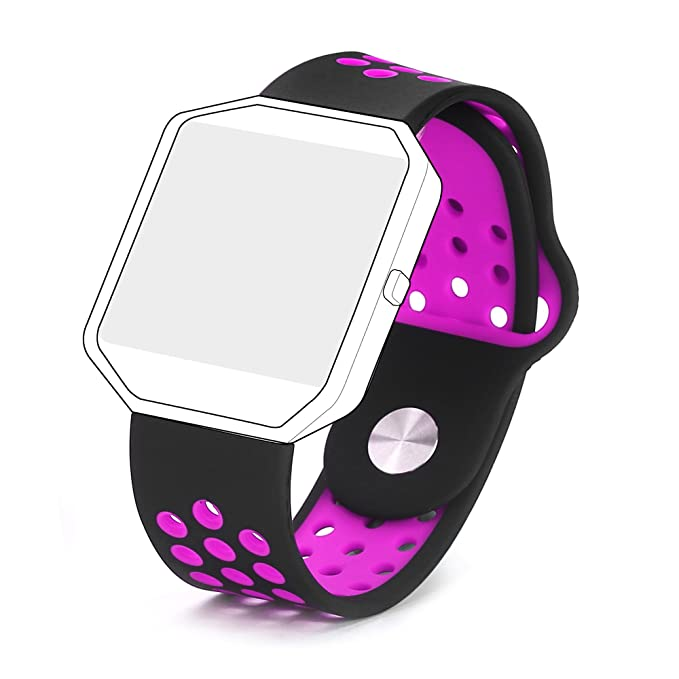 Bepack Fitbit Blaze Correa, Silicona Súper-suave Adjustable Reemplazo Band para Fitbit Blaze Smartwatch Fitness Wristband: Amazon.es: Deportes y aire libre
