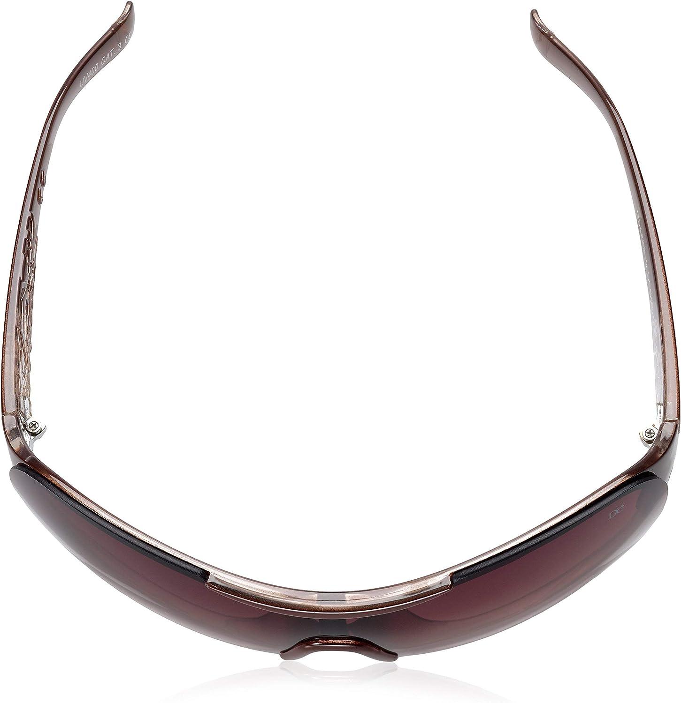 Dice Sonnenbrille Lunettes de Soleil Femme Brown crystal