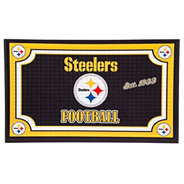 Team Sports America NFL Embossed Floor Mat, 18 x 30 inches