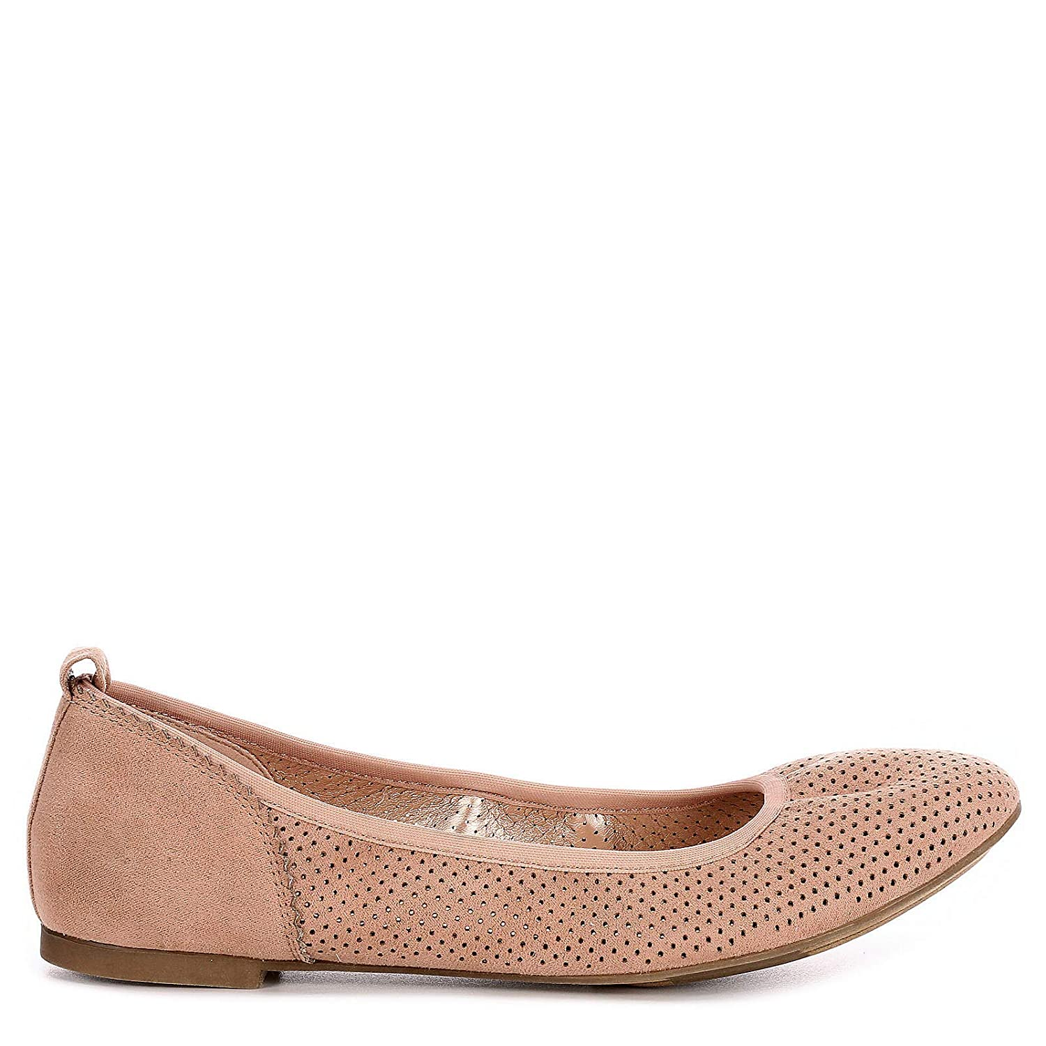 Blush XAPPEAL Womens Clair Slip On Ballet Flat Shoes US 6.5