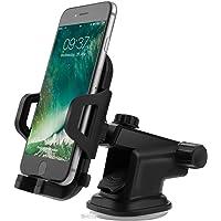 Soporte Para teléfono Móvil Del Coche, FayTun titular del teléfono del coche del coche universal con el lechón de gel, brazo telescópico ajustable gira 360 ° para smartphone