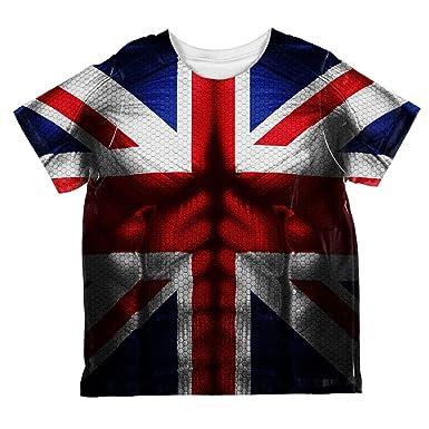 Union Jack Halloween Costume | Amazon Com Halloween Union Jack British Flag Superhero Costume All