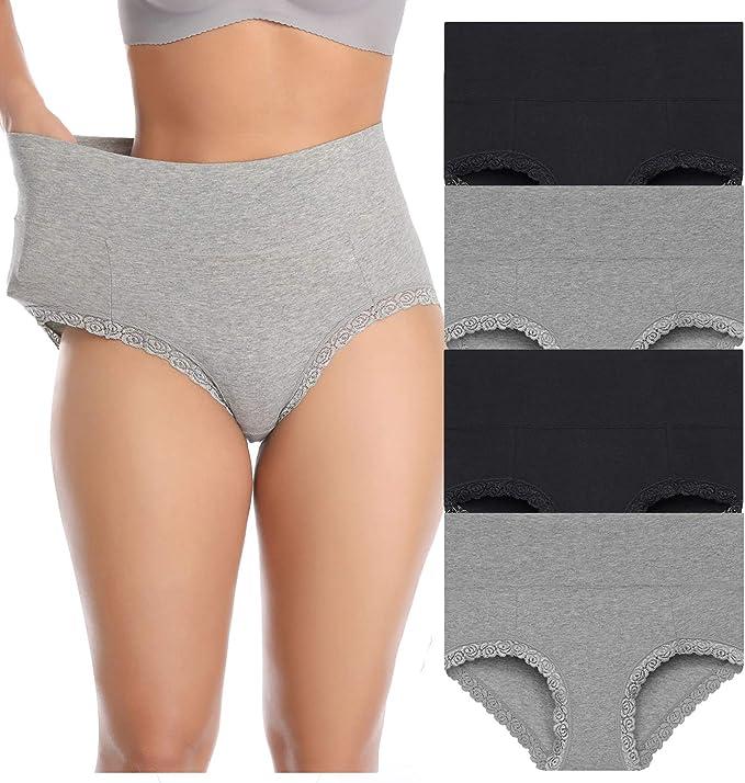 SweetieP Womens Kettle Bikini Briefs Comfy Full Coverage Underwear