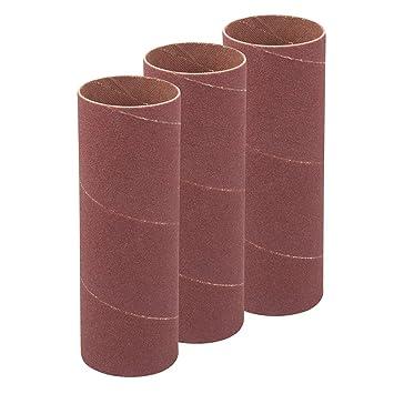 Silverline 277675 - Rodillos abrasivos 90 mm, 3 pzas (38 mm, Grano 60): Amazon.es: Bricolaje y herramientas