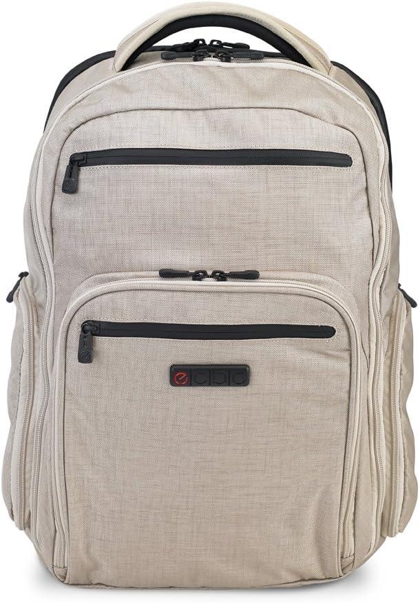 "ECBC Hercules K7102 Nylon 17"" Laptop Backpack w/TSA Security CheckFast Pass"
